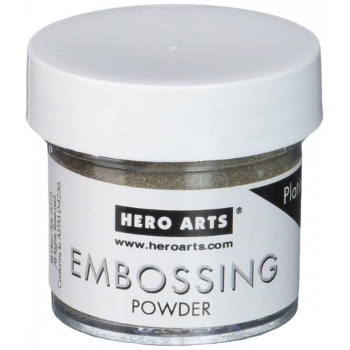 Hero Arts Embossing Powder - Platinum