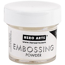 Hero Arts Embossing Powder - White Satin Pearl