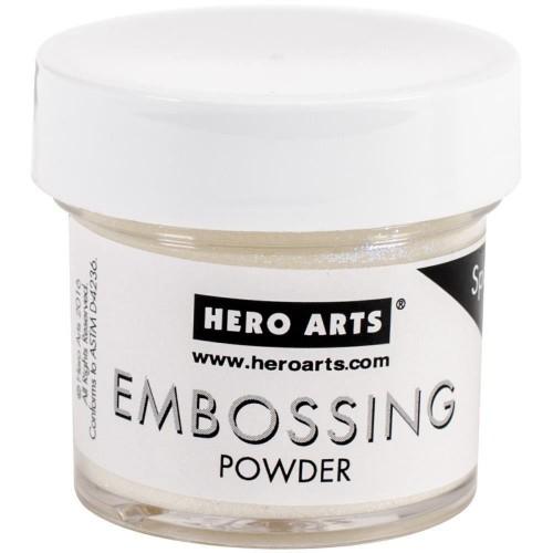 Hero Arts Embossing Powder - White Satin Pearl
