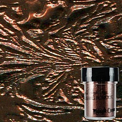 Lindy's Stamp Gang 2-Tone Embossing Powder - Midnight Copper