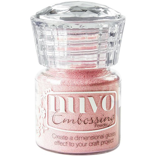 Nuvo Embossing Powder - Ballerina Pink (0.74 oz)