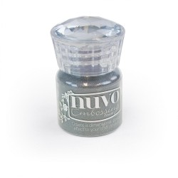 Nuvo Embossing Powder - Classic Silver (0.74 oz)