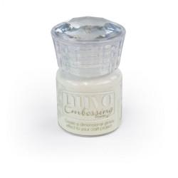 Nuvo Embossing Powder - Glacier White (0.74 oz)