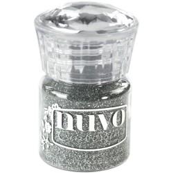 Nuvo Embossing Powder - Silver Moonlight (0.74 oz)