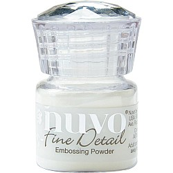 Nuvo Embossing Powder Fine Detail .68oz - Crystal Clear