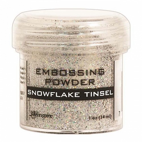Ranger Embossing Powder - Snowflake Tinsel