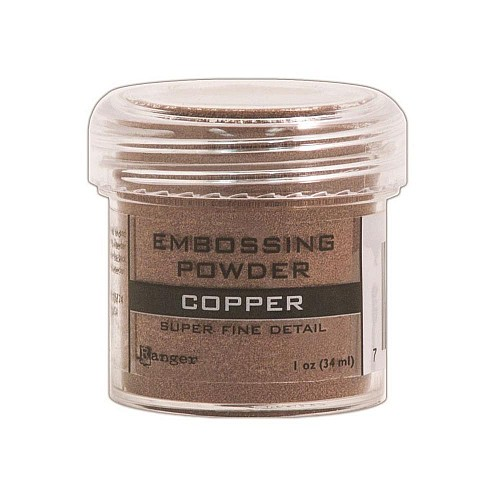 Ranger Embossing Powder - Copper (Super Fine Detail)