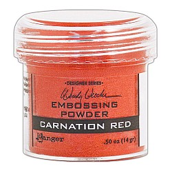 Wendy Vecchi Embossing Powder - Carnation Red