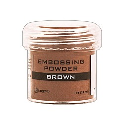 Ranger Embossing Powder - Brown