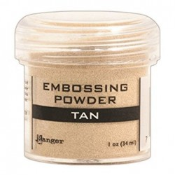 Ranger Embossing Powder - Tan