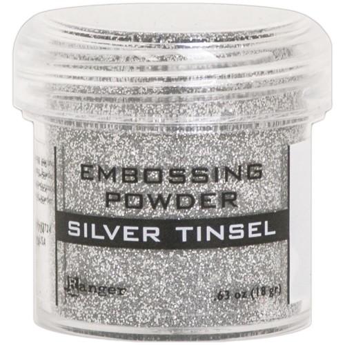 Ranger Embossing Powder - Silver Tinsel