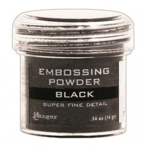 Ranger Embossing Powder - Black (Super Fine Detail)