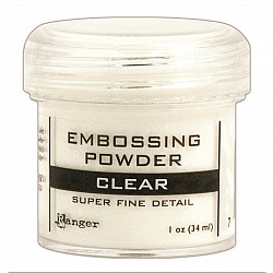 Ranger Embossing Powder - Clear (Super Fine Detail)