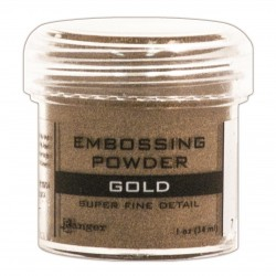 Ranger Embossing Powder - Gold (Super Fine Detail)
