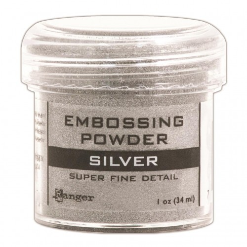 Ranger Embossing Powder - Silver (Super Fine Detail)
