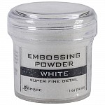 Ranger Embossing Powder - White (Super Fine Detail)