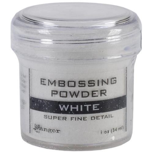 Ranger Embossing Powder - White (Super Fine Detail)