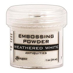 Ranger Antiquities Embossing Powder - Weathered White