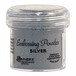 Tim Holtz Distress Embossing Powder - Silver
