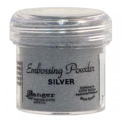 Tim Holtz Distress Embossing Powder - Silver