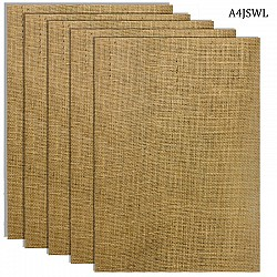 A4 Jute Sheets (Pack of 5 sheets)