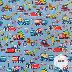 Printed Fabric - Kids Toys