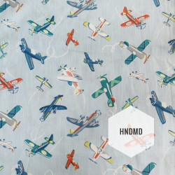 Printed Fabric - Planes