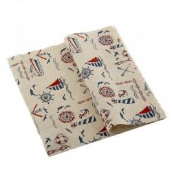Printed Fabric - Vintage Naval print