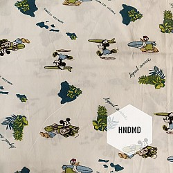 Printed Fabric - Mickey mouse and Donald duck adventure