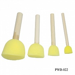 Foam or Sponge Brush Set (Pack of 4 pcs)