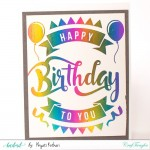 Silver Reactive Foils Transfer Sheets by CrafTangles