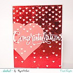 Holographic Reactive Foils Transfer Sheets by CrafTangles