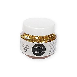 CrafTangles Gilding Flakes (120 ml) - Gold Dust