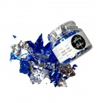 CrafTangles Gilding Flakes (120 ml) - Blue and Silver