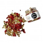 CrafTangles Gilding Flakes (120 ml) - Red and Gold