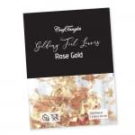 CrafTangles Gilding Foil Leaves - Rose Gold (Pack of 100 leaves)