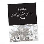 CrafTangles Gilding Foil Leaves - Silver (Pack of 100 leaves)