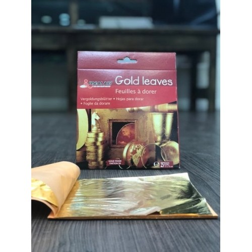 Ideal Art Gold Leaves (Pack of 25 leaves)