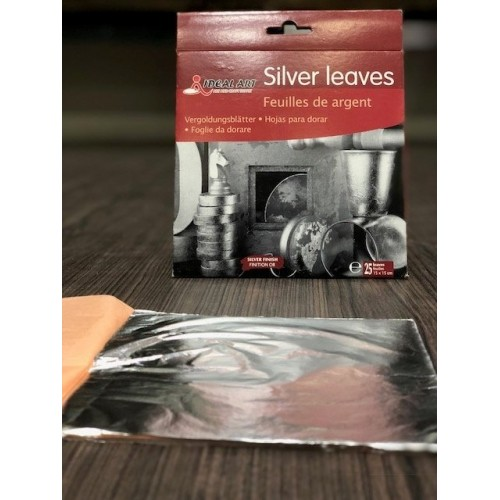 Ideal Art Silver Leaves (Pack of 25 leaves)