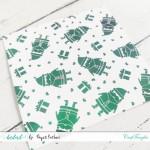 CrafTangles Designer Toner Sheets - Santa Claus (2 sheets of A4)