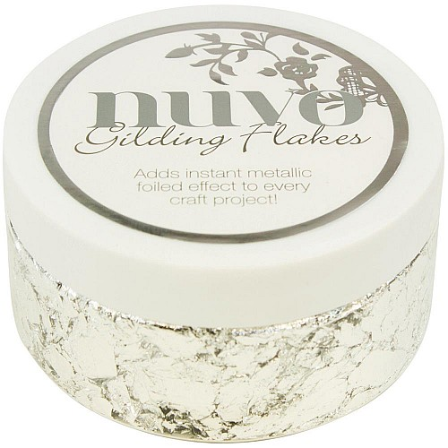 Nuvo Gilding Flakes 6.8oz - Silver Bullion