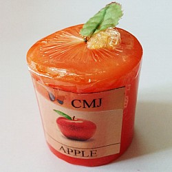 Aromatic Pillar Candles - Apple (Small)