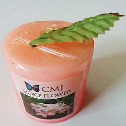 Aromatic Pillar Candles - Moke Flower (Small)