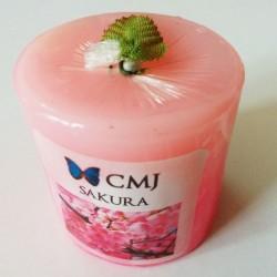 Aromatic Pillar Candles - Sakura (Small)