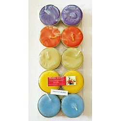 Aromatic Tea Lights - Mixed Scents (Pack of 10)