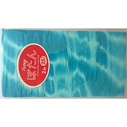 Stocking Cloth (Printed) - Light Blue and White