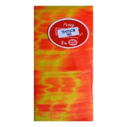 Stocking Cloth (Printed) - Orange and Yellow