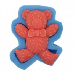 Designer Bear Silicone Soap Mold