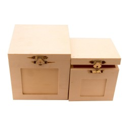 Square Boxes (Set of 2)