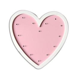 Wooden Marquee Lights - Heart